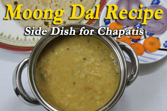 Moong Dal Recipe – Side Dish for Chapatis