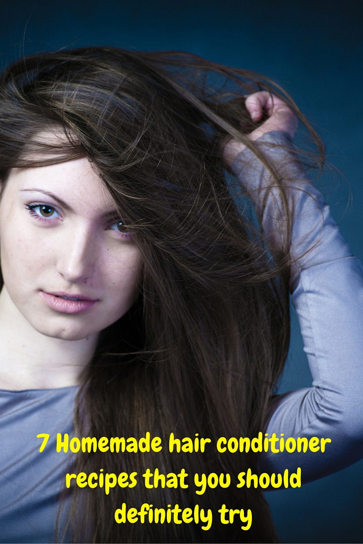 Homemade hair conditioner recipes to replace the commercial conditioners.