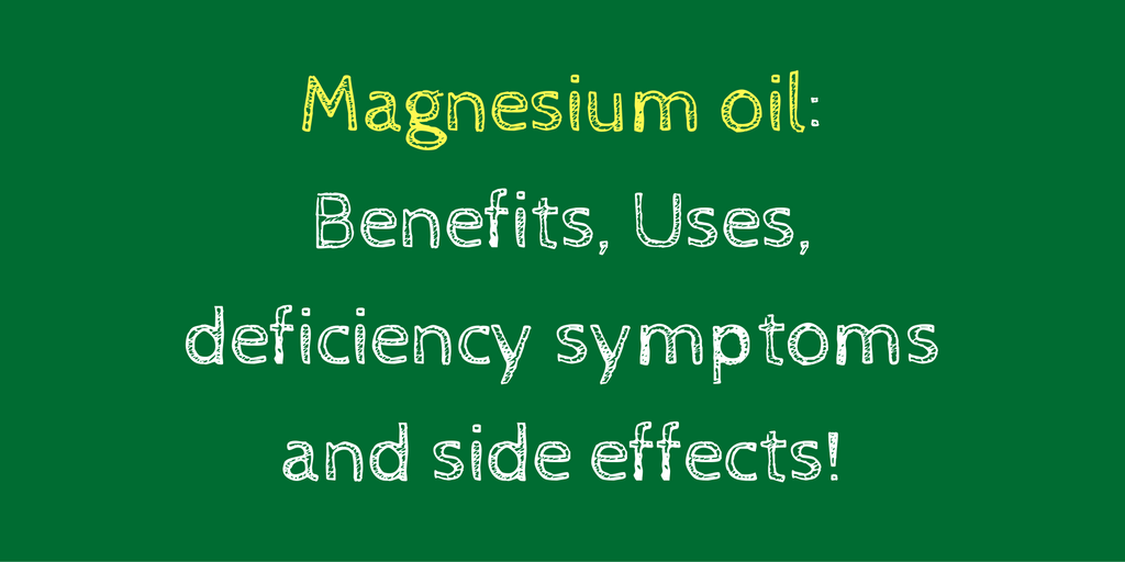 Magnesium citrate benefits and side effects