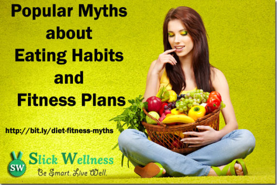 Popular Myths about Eating Habits and Fitness Plans