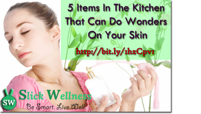 5 Items In The Kitchen That Can Do Wonders On Your Skin