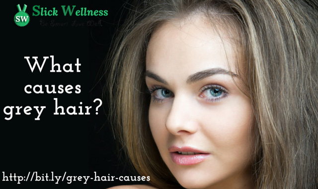 What causes grey hair?