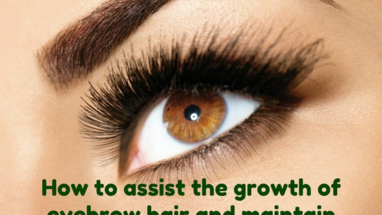 How To Grow Thick And Beautiful Eyebrows