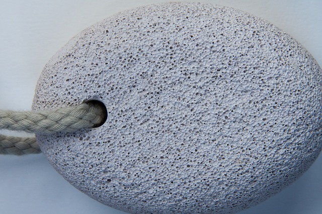 Use Pumice Stone to remove dead skin from feet