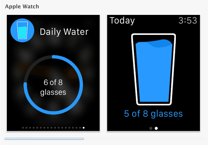 Daily water free - 2