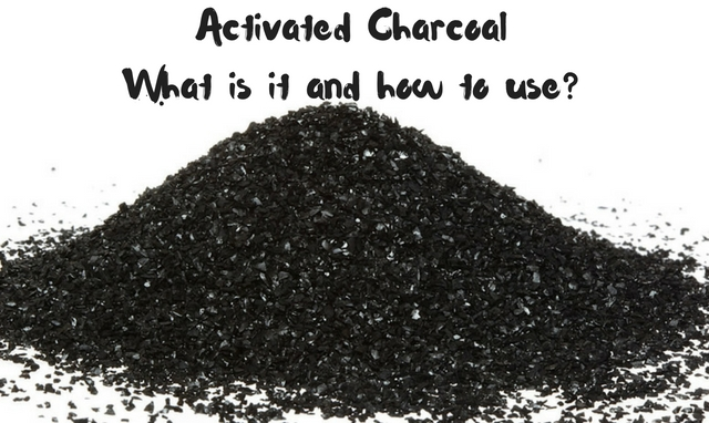 Activated Charcoal Uses- What is it and how to use it-