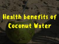 Fifteen Health Benefits of Coconut Water