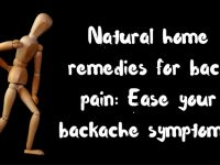 10 Home Remedies for Back Pain