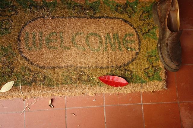 Use doormats