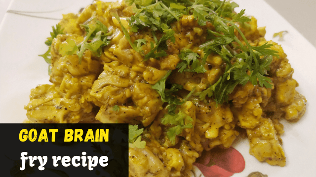 Goat-Brain-fry-recipe