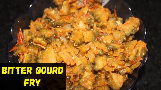 Bitter Gourd Fry | Spicy Bitter Gourd Thokku Dry | Paavakkai Thokku