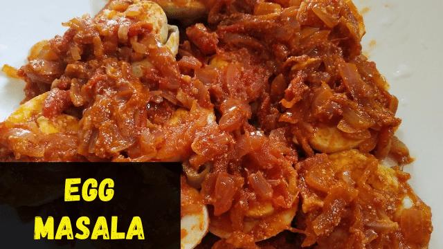 Boiled Egg Masala Recipe | Anda Masala Recipe