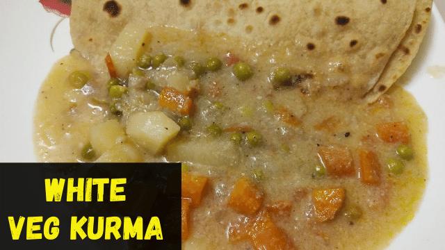 Restaurant style White Kurma Recipe