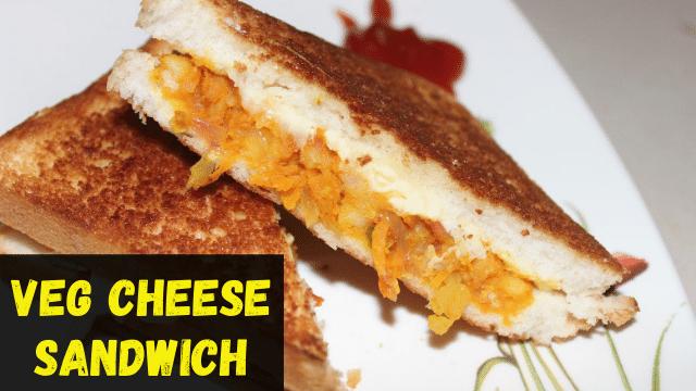 Vegetable Cheese Sandwich Recipe